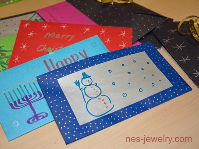 Paper Envelope For Little Christmas Gift Do It Yourself